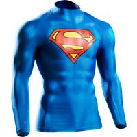 BM・GEAR スーパーマン ロングスリーブ【メンズ > ランニング > スポーツウェア > トップス > ロングスリーブ】【BODYMAKER/ボディメーカー】MG093