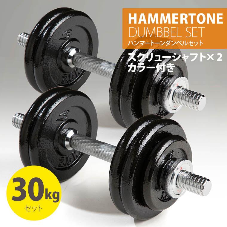 ハンマートーンダンベルセット30kg 鉄 アイアン