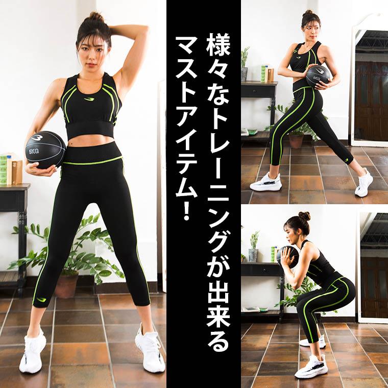 メディシンボールで腹筋を追い込む体幹トレーニング