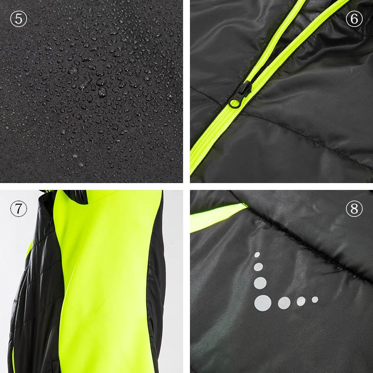 ストレッチパネルジャケット ネオプレーンジャケット ネオプレーン詳細 リフレクター 強化撥水