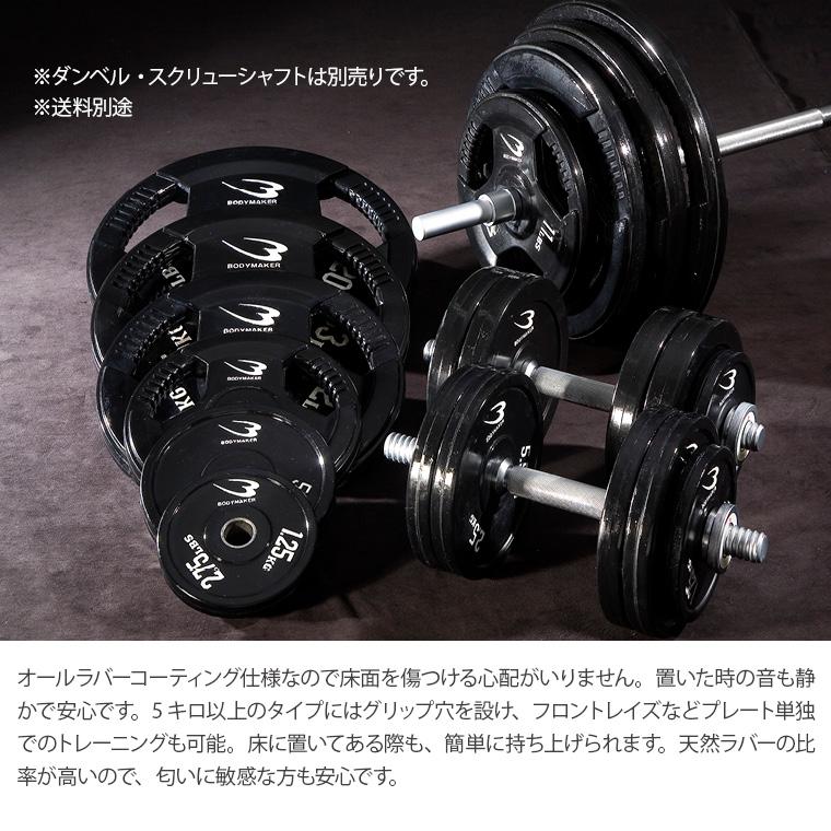 ラバーバーベルセットNR65kg ラバーコーティング