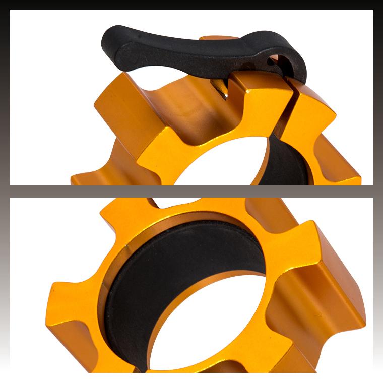 オリンピックシャフト用カラー(アルミ)ワンタッチ式