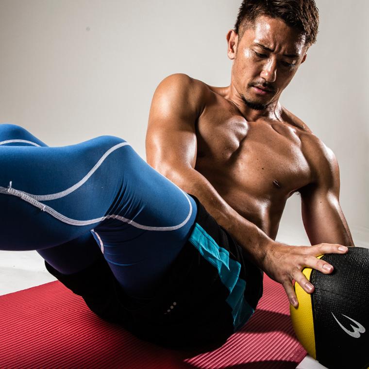 体幹トレーニングや瞬発力アップのトレーニングにも