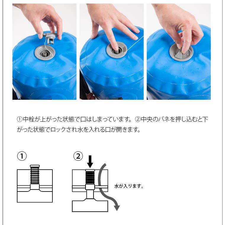 ウォーターバッグ 50kg 保管方法