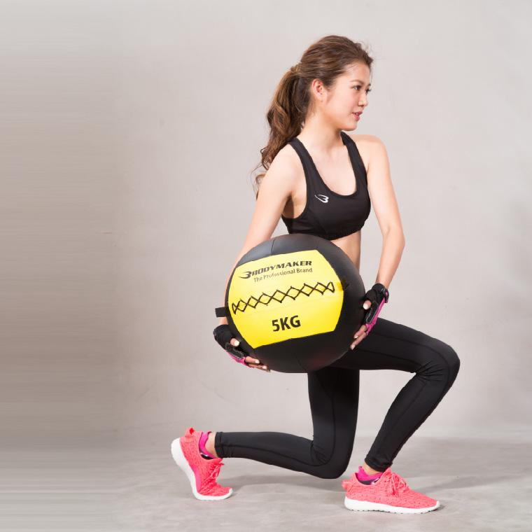 ウォールボール 10kg ブラック×イエロー トレーニング
