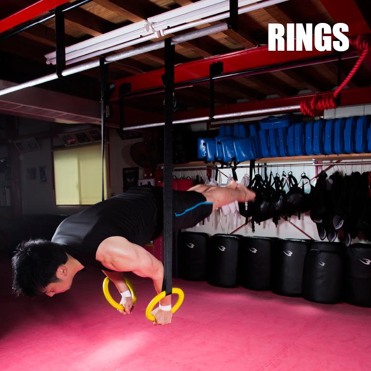 吊り輪 高負荷トレーニング
