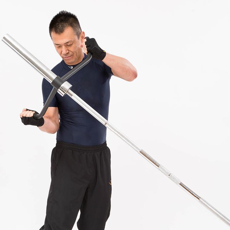 パワートルソー用Vバー2 捻転力 パワートルソートレーニング