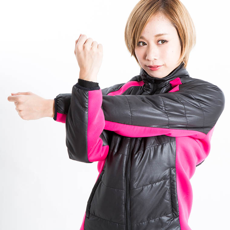 ストレッチパネルジャケット WOMEN スポーツ用アウター ジャケット