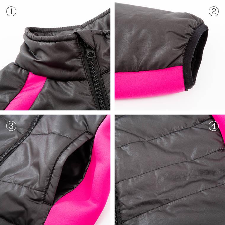ストレッチパネルジャケット WOMEN ピンク 女性用