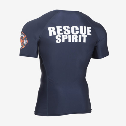 RESCUE SPIRIT GEARハーフスリーブ M ネイビー