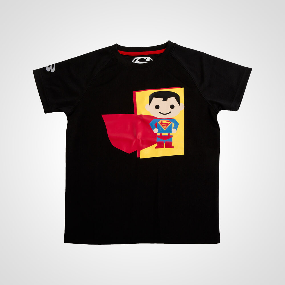 BM・DRY KIDS SUPERMAN ハーフスリーブ