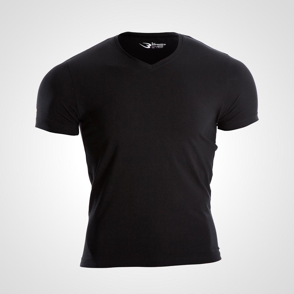 ベーシックTシャツVネック