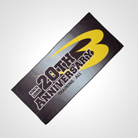 BODYMAKER 20th ANNIVERSARY SPORTS TOWEL