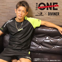 TEAM ONE×DIVINER×BODYMAKER コラボ BM・DRY ハーフスリーブ S
