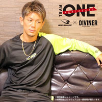 TEAM ONE×DIVINER×BODYMAKER コラボ BM・DRY ロングスリーブ