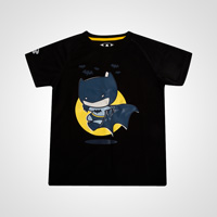 BM・DRY KIDS BATMAN ハーフスリーブ