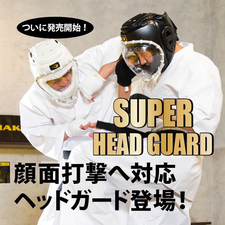 顔面打撃対応 顔面守る 安心・安全