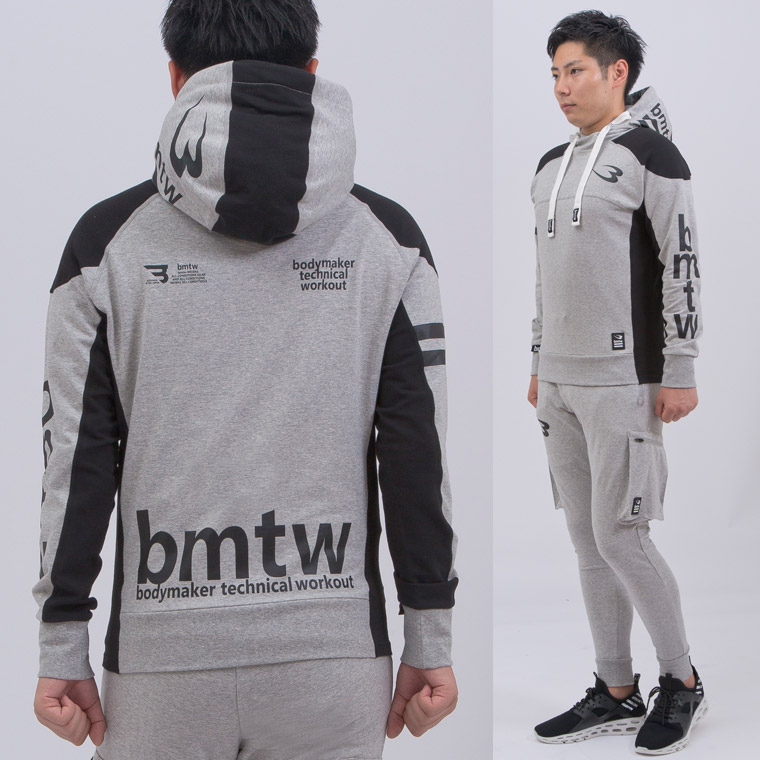 bmtw BM・GYMウェア フーディ1