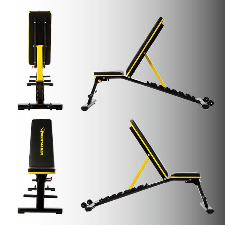 インクラインベンチ フラットベンチ マルチパーパスベンチ フラットからインクライン可動式